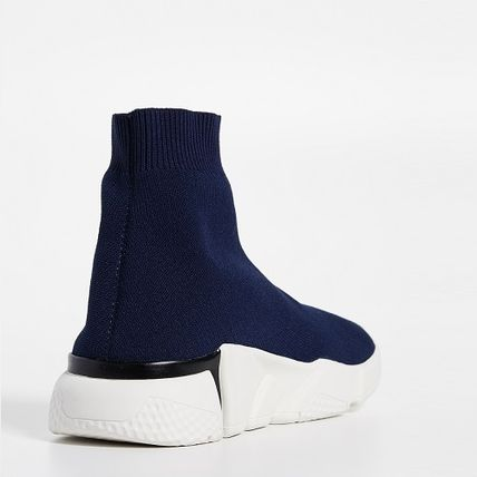 Casual Style Street Style Plain Sock Sneakers