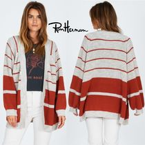 Ron Herman Cable Knit Casual Style Wool Blended Fabrics Long Sleeves