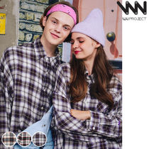WV PROJECT Glen Patterns Casual Style Unisex Street Style Collaboration
