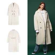 ANOTHER FRAME Unisex Street Style Long Chester Coats