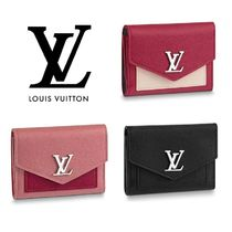 Louis Vuitton Calfskin Folding Wallet Folding Wallets