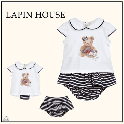 Blended Fabrics Baby Girl Tops
