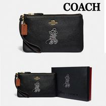 Coach Collaboration Pouches & Cosmetic Bags