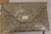 Jimmy Choo Blended Fabrics Plain Party Style Party Bags