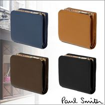 Paul Smith Unisex Leather Folding Wallets