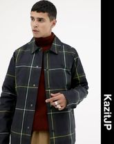 ASOS Other Check Patterns Street Style Coach Jackets