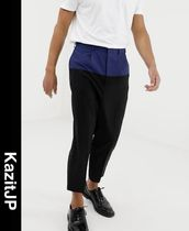 ASOS Tapered Pants Wool Street Style Tapered Pants