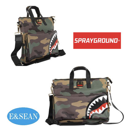 Camouflage Street Style Messenger & Shoulder Bags