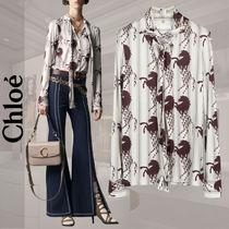 Chloe Stripes Long Sleeves Other Animal Patterns Elegant Style