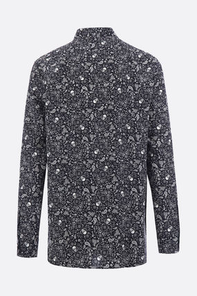 Saint Laurent Shirts Silk Long Sleeves Shirts 2