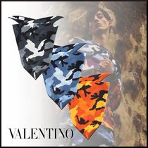VALENTINO Camouflage Wool Accessories