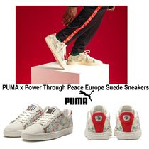 PUMA SUEDE Street Style Oversized Sneakers