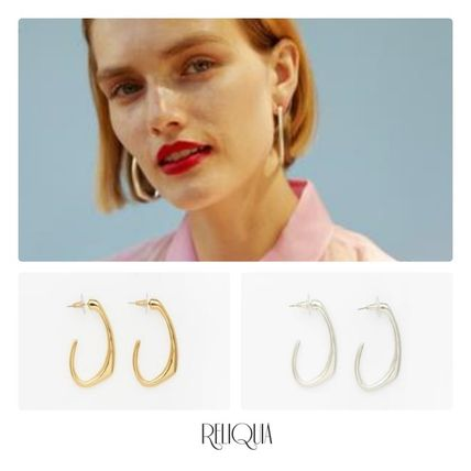 Unisex Street Style Elegant Style Co-ord Earrings