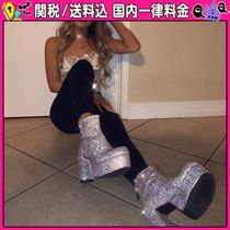 DOLLS KILL Platform Casual Style Ankle & Booties Boots