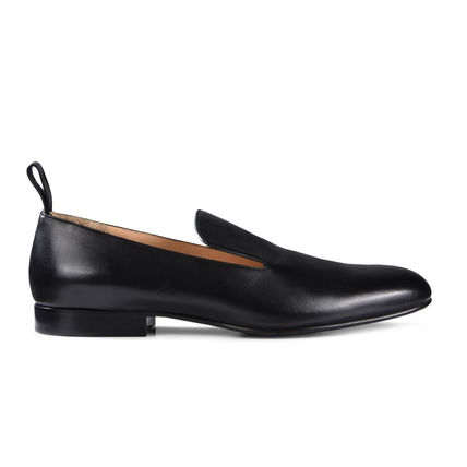 Moccasin Plain Leather Shoes