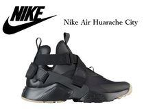 Nike AIR HUARACHE Rubber Sole Casual Style Street Style Plain Low-Top Sneakers
