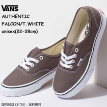 VANS AUTHENTIC Unisex Street Style Plain Sneakers