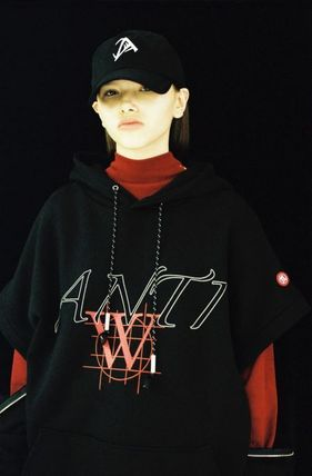 ANOTHERYOUTH Hoodies Unisex Street Style Long Sleeves Cotton Oversized Hoodies 4