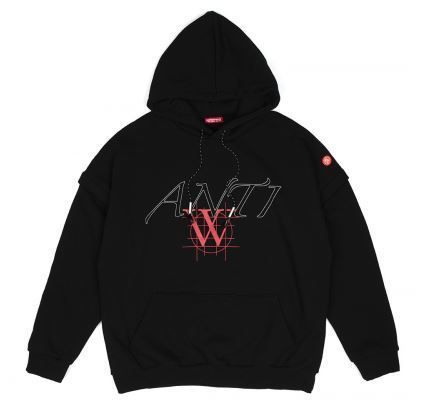 ANOTHERYOUTH Hoodies Unisex Street Style Long Sleeves Cotton Oversized Hoodies 11