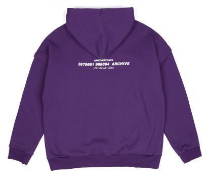 ANOTHERYOUTH Hoodies Unisex Street Style Long Sleeves Cotton Oversized Hoodies 19