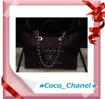 CHANEL DEAUVILLE A4 2WAY Totes