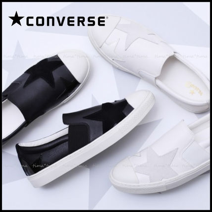 0032151e7101bc CONVERSE ALL STAR 2019 SS Star Unisex Street Style Leather Sneakers ...