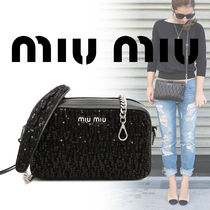 MiuMiu Lambskin Party Style Party Bags
