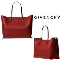 GIVENCHY Leather Elegant Style Totes