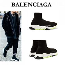 BALENCIAGA Unisex Bi-color Sneakers