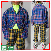 Oh Hey Girl Other Check Patterns Casual Style Street Style Oversized