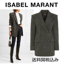Isabel Marant Stripes Wool Elegant Style Jackets