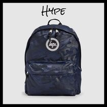 Hype Camouflage Street Style Backpacks