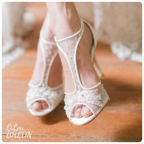 BHLDN Flower Patterns Shoes