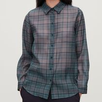 COS Other Check Patterns Casual Style Long Sleeves Medium