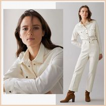 Massimo Dutti Casual Style Long Sleeves Plain Shirts & Blouses