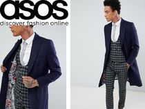 ASOS Flower Patterns Leopard Patterns Wool Street Style Long