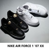 Nike AIR FORCE 1 Casual Style Unisex Studded Low-Top Sneakers