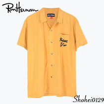 Ron Herman Tropical Patterns Unisex Short Sleeves Handmade Shirts