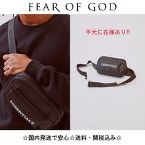 FEAR OF GOD ESSENTIALS Unisex Street Style Collaboration Bags