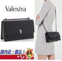 Valextra 2WAY Chain Elegant Style Shoulder Bags