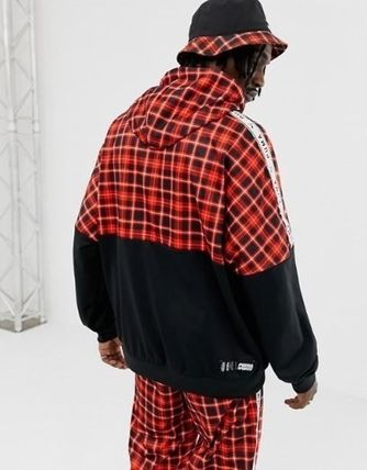 PUMA Hoodies Pullovers Other Check Patterns Sweat Street Style 3