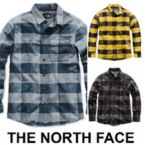 THE NORTH FACE Other Check Patterns Long Sleeves Cotton