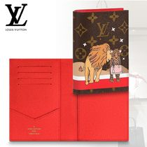 Louis Vuitton Blended Fabrics Passport Cases