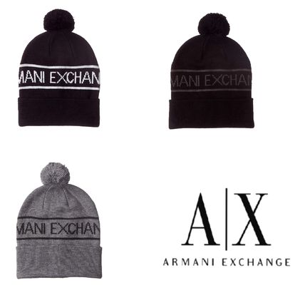e0facca1707 A X Armani Exchange Knit Hats by ALO-Gold24 - BUYMA