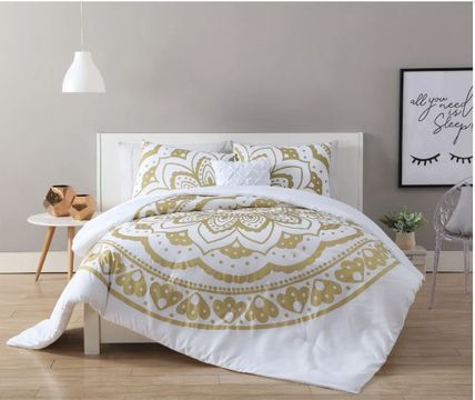 Pillowcases Comforter Covers Damask Ethnic Co-ord