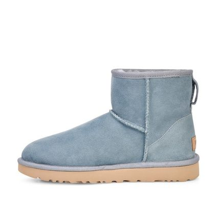 UGG Australia Ankle & Booties Round Toe Sheepskin Plain Ankle & Booties Boots 4