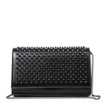 Christian Louboutin Paloma Studded 2WAY Leather Shoulder Bags