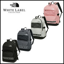 THE NORTH FACE Unisex Plain Leather Backpacks