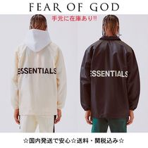 FEAR OF GOD ESSENTIALS Unisex Street Style Coach Jackets Coach Jackets