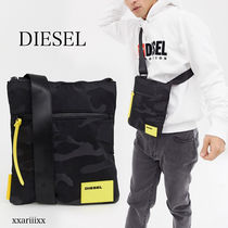 DIESEL Camouflage Casual Style Street Style Shoulder Bags